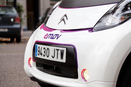 El grupo PSA se hace con el 100 % de la plataforma de coche compartido emov, apuntando a Madrid y Portugal