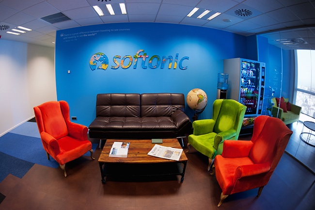Espacios para trabajar las oficinas de softonic for Trabajar en oficinas de mercadona