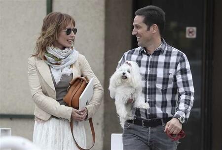 Emma García y su marido