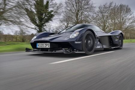 Aston Martin Valkyrie Roadster 2022 Teaser