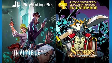 Invisible y Stories: Path of Destinies serán los juegos de PS Plus de diciembre
