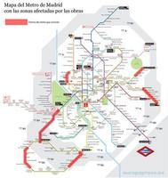 ¿Usuario del metro madrileño? Conoce las obras que se harán este verano (habrá autobuses gratis)