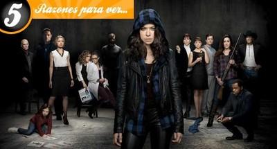 Cinco razones para ver 'Orphan Black'