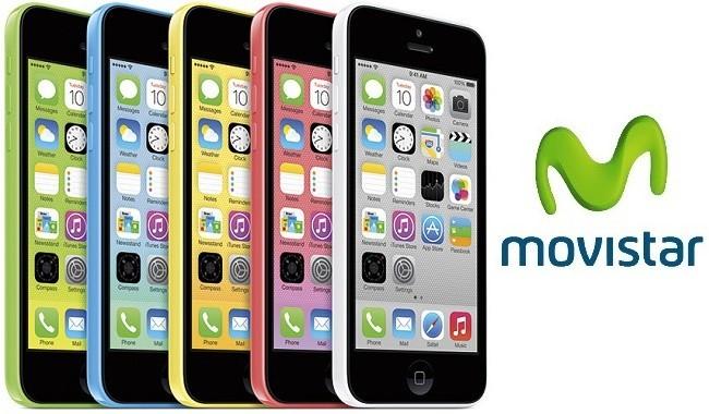 Precios iPhone 5c 8GB con Movistar
