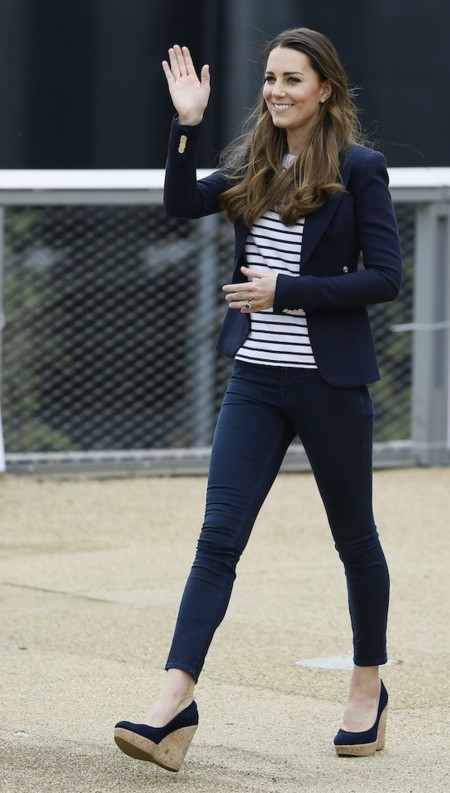kate middleton look casual