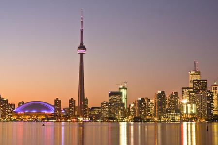 Toronto At Dusk A
