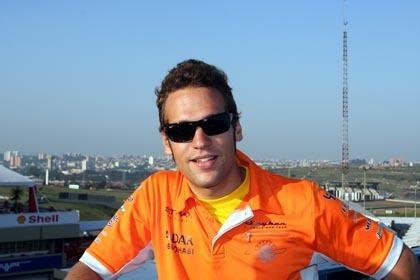 Roldán será piloto titular de Spyker en 2008