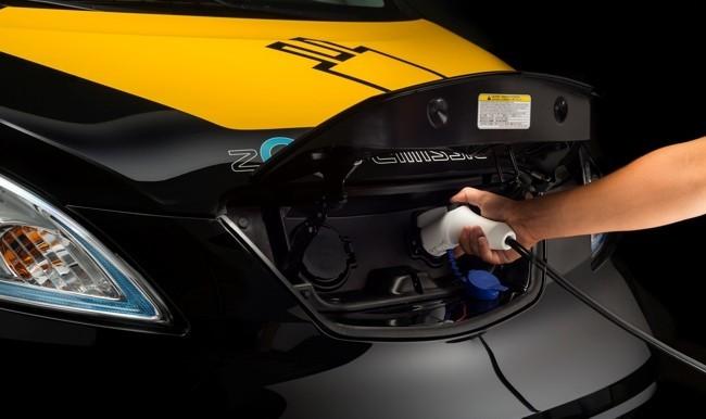 Nissan e-NV200 taxi eléctrico Barcelona 02