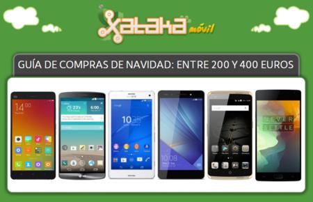 Guía de compras de Navidad: smartphones entre 200 y 400 euros
