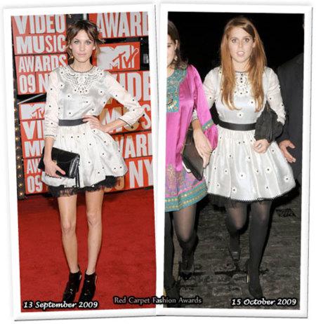 Vestido de Luella: ¿Alexa o Beatriz?