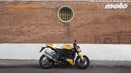 Ducati Streetfighter 848, prueba (valoración, vídeo, ficha técnica y galerías)