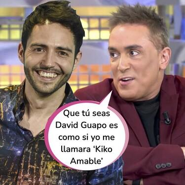 """El siniestro episodio de Kiko Hernández con David Guapo: """"Ares Teixidó, tu exnovio me mandó a un investigador de Villarejo durante dos meses"""""""
