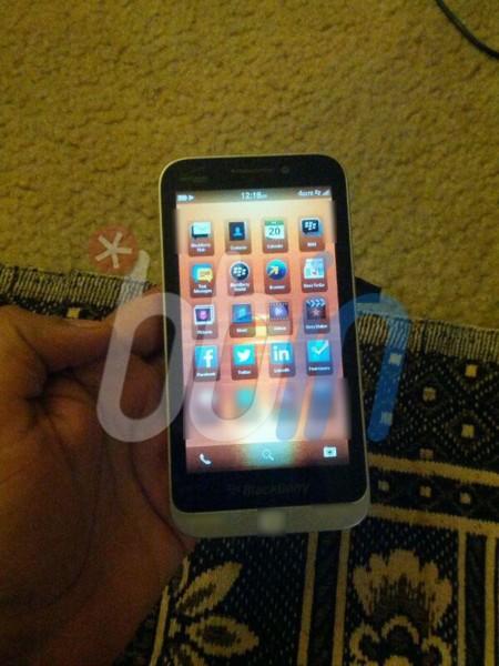 Aparece una imagen de la presunta BlackBerry C