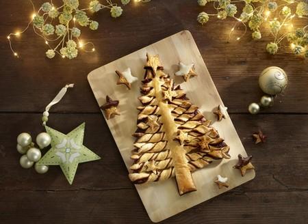 Arbol De Navidad Con Hojaldre