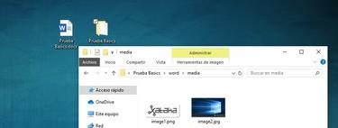 Cómo extraer las imágenes y elementos de un archivo .docx .pptx o .xlsx con sólo cambiar su extensión