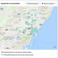 Ante el ataque, Facebook se ha convertido en una gran lista de de barceloneses ofreciendo casa, comida y ayuda