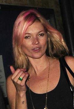 Kate Moss, su nuevo corte de pelo y nuevo color