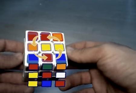 Solucionar el cubo de Rubik en menos de 20 movimientos está tirado gracias a la realidad aumentada