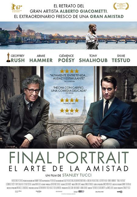 Final Portrait: el arte de la amistad