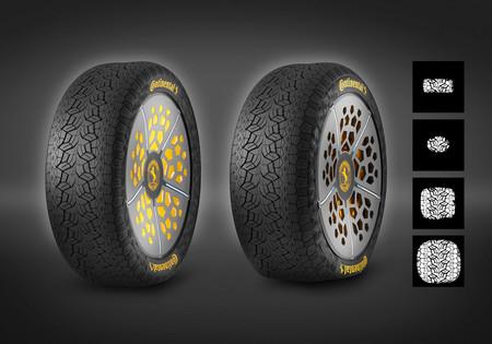 Los neumáticos serán inteligentes con presión y anchura variables, o así lo cree Continental