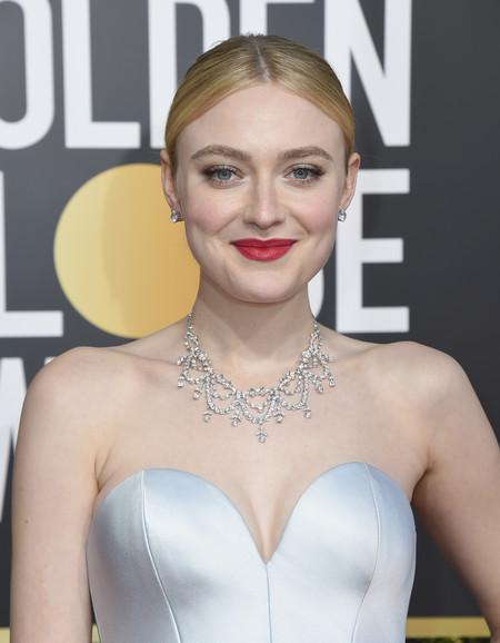 Dakota Fanning Globos De Oro 2019 2