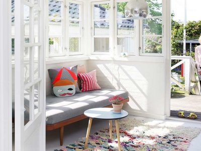 La semana decorativa: Nos gusta el blanco, y sobre todo en verano