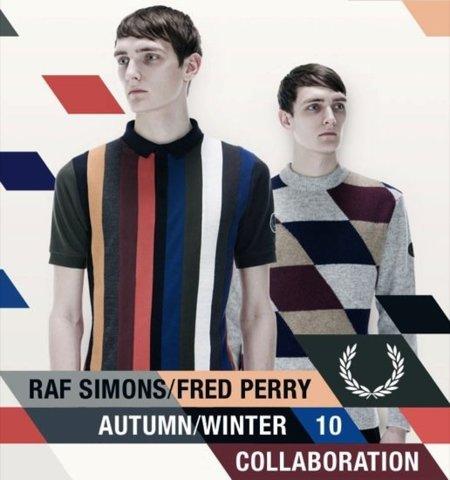 Raf Simons para Fred Perry, colección Otoño-Invierno 2010: renovación moderna