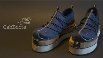 Unas botas que te guían según el estado del terreno