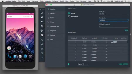 Así es el nuevo emulador de Android Studio 2.0: velocidad y usabilidad por bandera