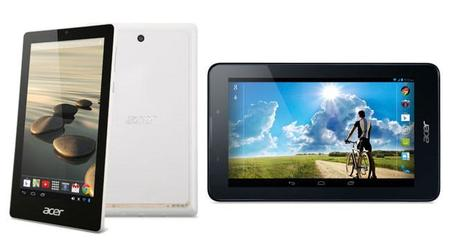 Acer Iconia One 7 e Iconia Tab 7