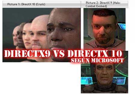 El márketing de Microsoft vendiendo DirectX 10 es, como mínimo, dudoso