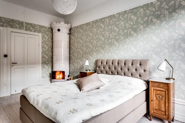Dormitorio de Apartamento en Estocolmo