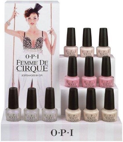 OPI Femme de Cirque, una colección de suaves rosas para abril