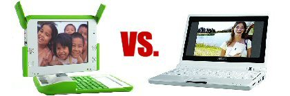 Asus Eee vs. OLPC OX-1