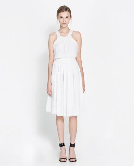 Zara Vestido romántico verano