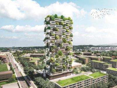 117 metros y más de 100 árboles conformarán el rascacielos verde más grande del mundo