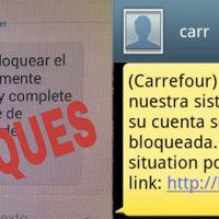 Un nuevo timo por SMS se hace pasar por Carrefour para robar tus datos