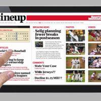 Así se podrían ver los periódicos y revistas el año que viene en tabletas de Internet