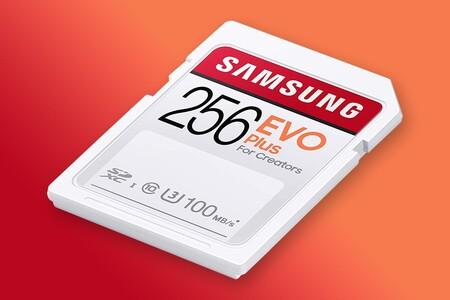 Tarjeta SD de Samsung ideal para grabar contenido en 4K de oferta en Amazon México: es de 256 GB y está disponible por 694 pesos