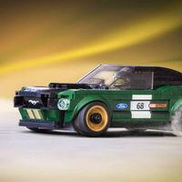 Uno más para la estantería. Lego reproduce a escala el Ford Mustang fastback 1968