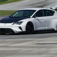 Video: Cupra e-Racer se deja ver por primera vez en pista