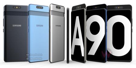 Se filtran nuevos detalles del Galaxy A90: Snapdragon 7150 y triple cámara, entre ellos