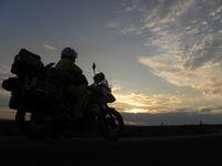 América en moto. Rumbo al Ártico. La Dempster Highway