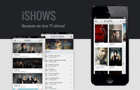 iShows, la app para estar al día de tus series preferidas