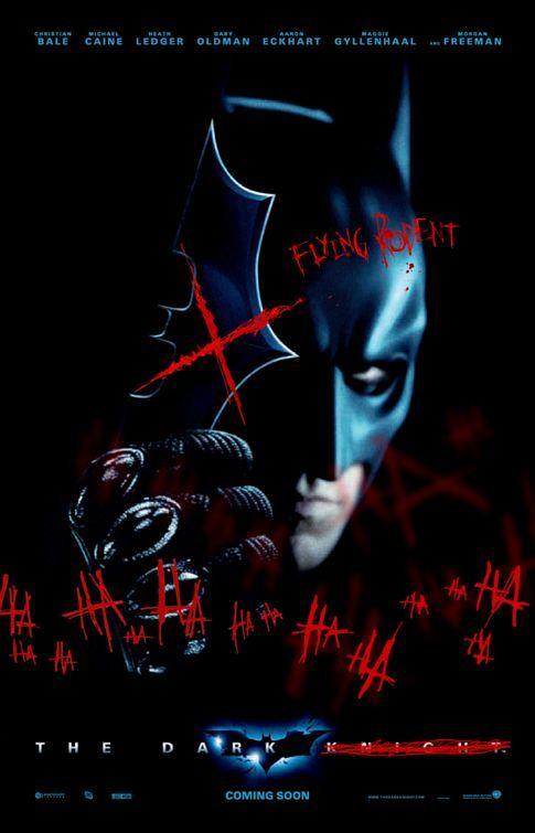 Foto de El Joker pinta 'The Dark Knight' (7/9)