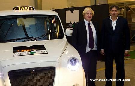 Presentación del nuevo taxi eléctrico de Londres