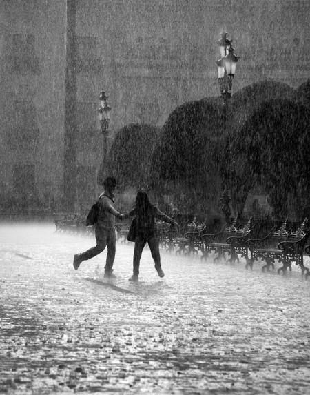 Falling Rain In Mexico
