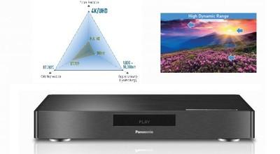 Panasonic muestra la nueva generación de Blu-rays: 4K, más  colores y alto rango dinámico