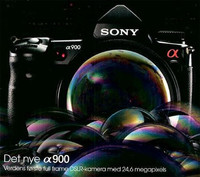Se filtra un anuncio de la Sony A900