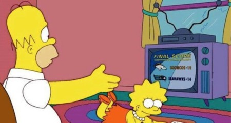 Simpsons Super Bowl